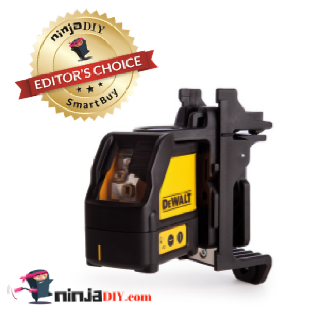 an image of the dewalt dw089 laser level which is considered to be the best laser level for electricians