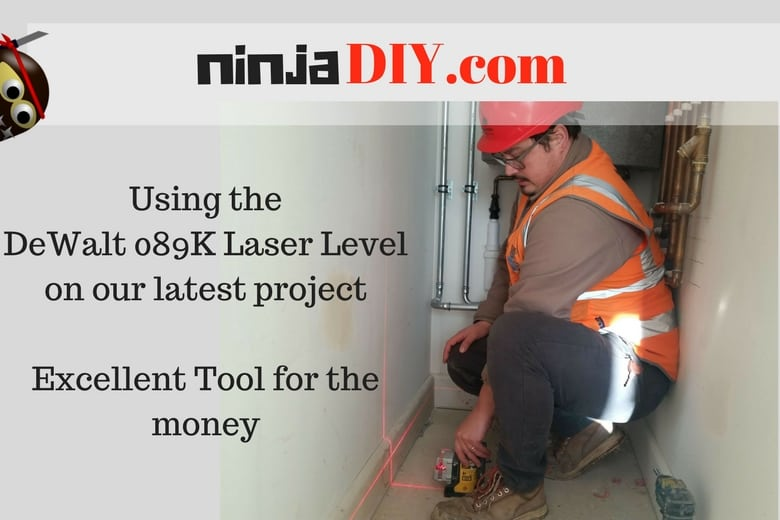 using some of the best laser level for the money dewalt089k