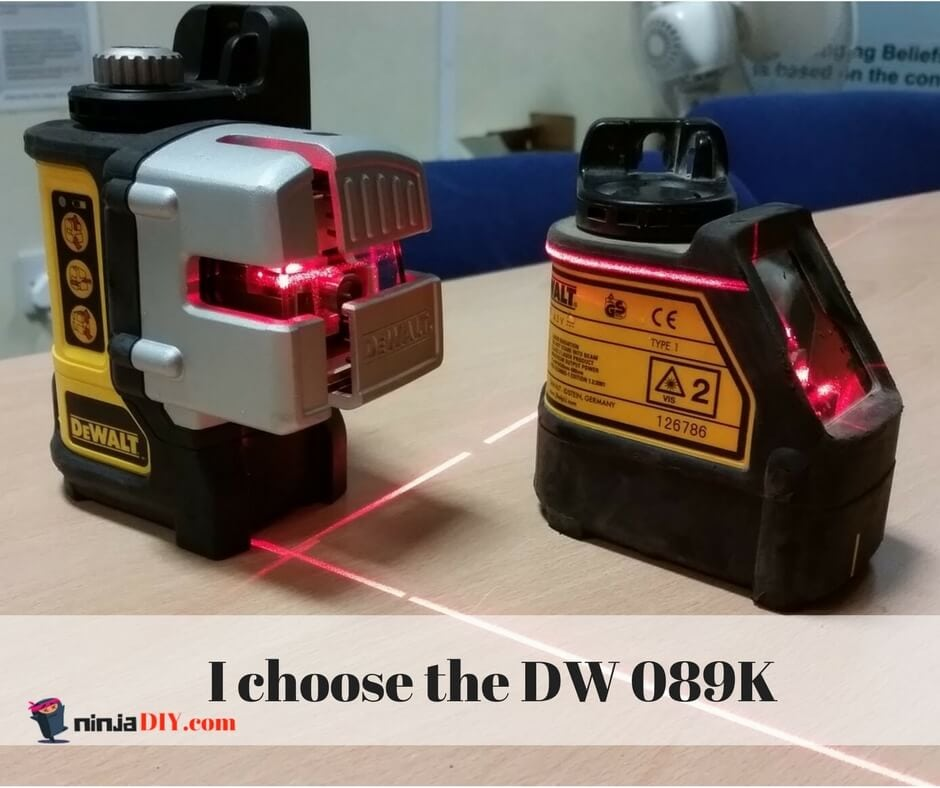 dewalt dw089k is better than dw 088k