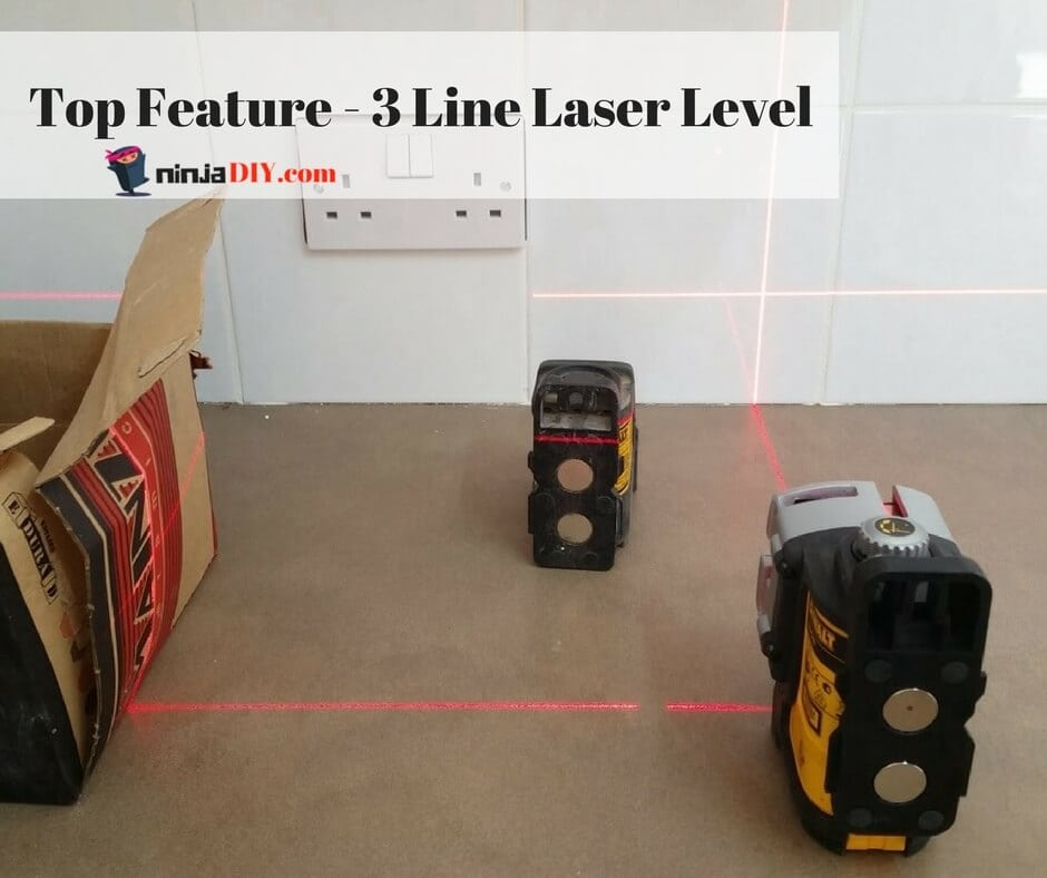 best feature on the dw089k is the 3 beam laser level