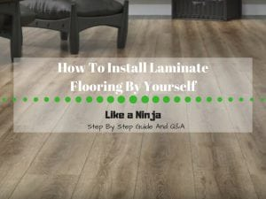 a step by step guide on How to install laminate flooring by yourself
