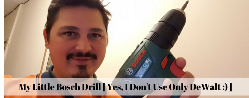 any homeowner should have a drill, or included in any power tool kit