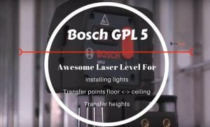 one of the best 5 point laser levels on the market