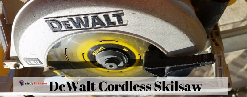 cordless dewalt skilsaw from the power tool kit