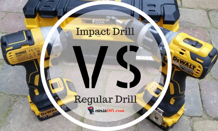 what is the difference between an impact drill and a regular drill