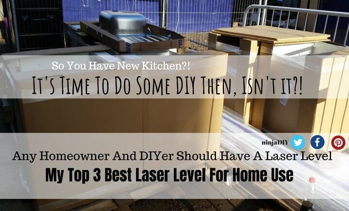any homeowner and diyer should have a laser level for home use