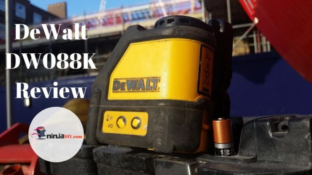 dewalt dw088k review adn an image of the product that is being reviewd