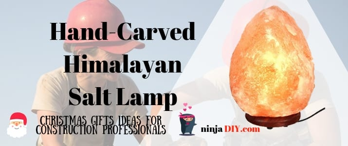 cheap christmas present for colleagues and friends a salt-lamp