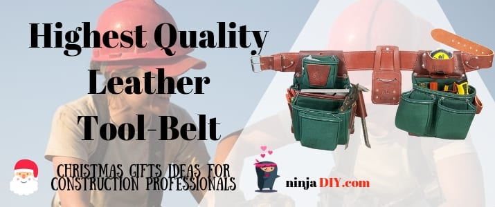 a genuine leather tool belt the best christmas gift for a carpenter