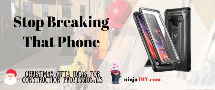 heavy-duty mobile phone case perfect inexpensive Christmas gift for builders