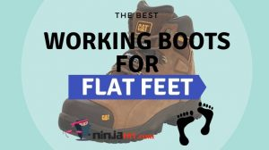 best working boots for flat feet