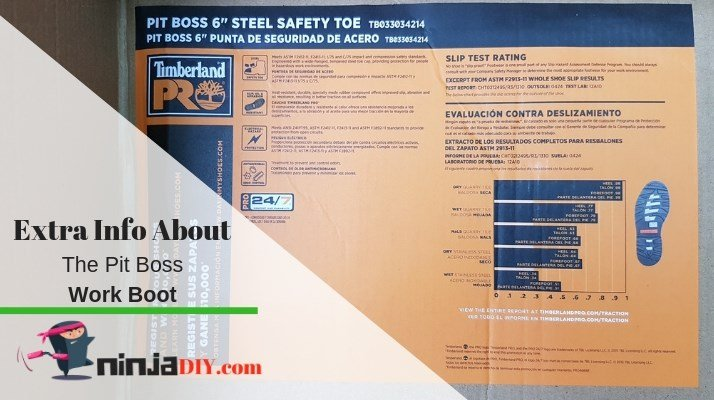know more about the pit boss safety boot
