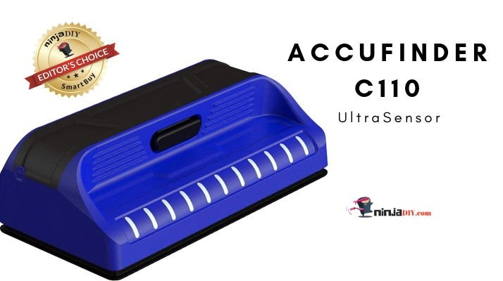 accufinder c110 ultrasensor stud finder
