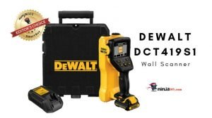 a great stud finder from dewalt, this is the image of dewalt dct419s1 stud finder