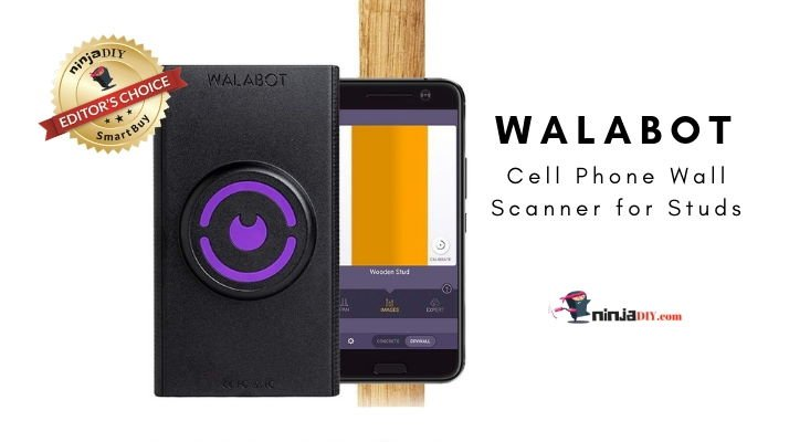 an image of the walabot app stud finder for cell phones