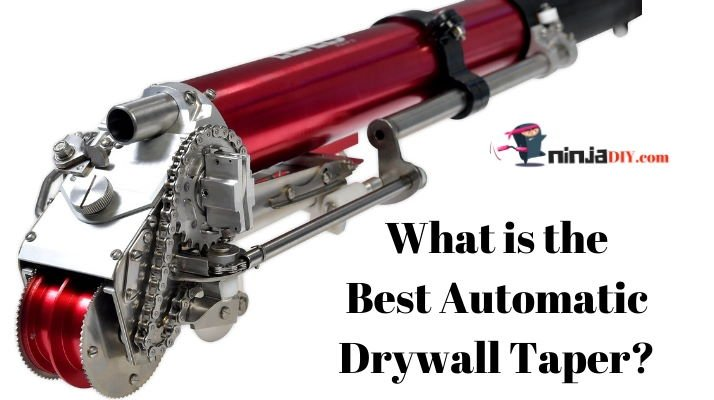 an image of some of the best automatic drywall tapers for professionals