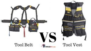 an image with a tool belt comparing it with a tool vest