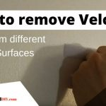 how to remove velcro from different surfaces