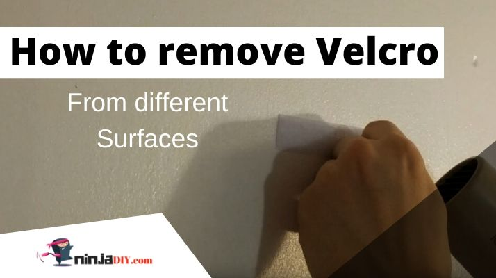 how to remove velcro from different surfaces From Metal From Wood From Wall