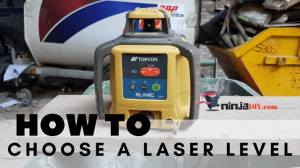 an image about a laser level. image from the artcile how to choose the right laser level for your needs