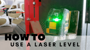 a few quick tips on hot to use laser level