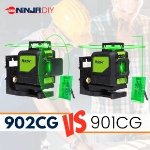 huepar 901cg and huepar 902cg are two laser level from the Huepar brand and they are going to be compared between each other in this article