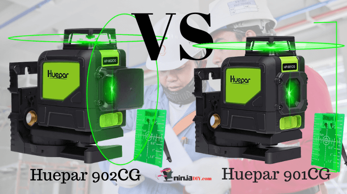 a huepar laser level comparison between huepar 902cg vs 901cg