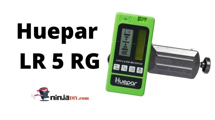 huepar lr 5 rg laser level receiver