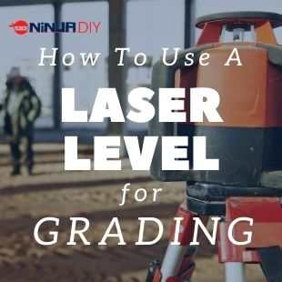 a laser level that's used for grading