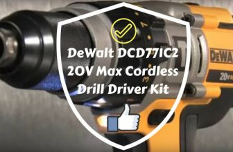 DeWalt DCD771C2 20V Max Cordless Drill Driver Kit | My Review 2020