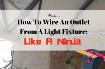 How To Wire An Outlet From A Light Fixture