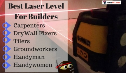 Top 5 Best Laser Level for Builders in 2019 | Reviewed By PROS