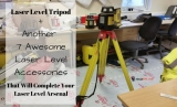 Best Laser Level Tripod + 7 Awesome Laser Level Accessories