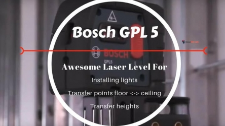 Bosch GPL5 Review | Professional 5 Point Laser Level