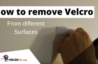 How to remove Velcro adhesive from different surfaces?