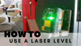 How to use a laser level (Beginners Tips)